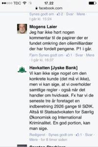 Jyske bank påstår at jyske bank overholder alle regler, men kan det virkelig passe :-( ? Nej