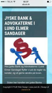 Lund Elmer Sandager har deres egne regler