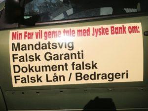 Vi vil så gerne tale med jyske bank, som siden 31 maj 2017 har nægtet deres kunde dialog, og Tidligrer bare nægtede at svare på spørgsmål for at dække over sandheden